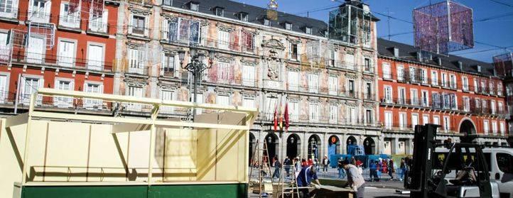 Madrid se prepara para la Navidad