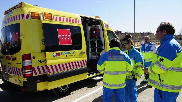 Un accidente en la M-501 deja un motorista herido grave