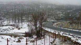 El 112 alerta de nevadas en la sierra de hasta 5 centímetros en la tarde del domingo