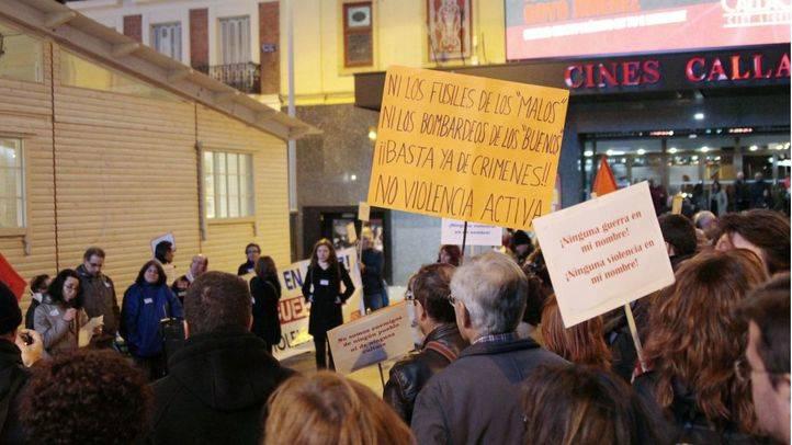 Colectivos convocan la concentración 'Me declaro en paz' contra quienes dicen que 'estamos en guerra'