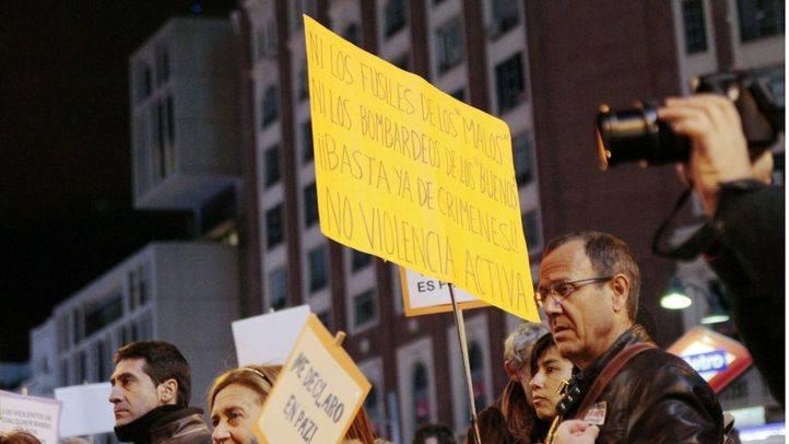Colectivos se concentran en Callao bajo el lema 'Me declaro en paz' contra quienes dicen que