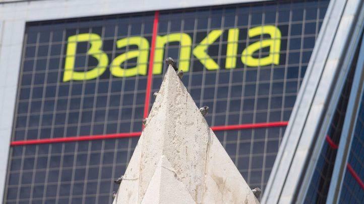Foto de archivo de las oficinas de Bankia en Madrid.
