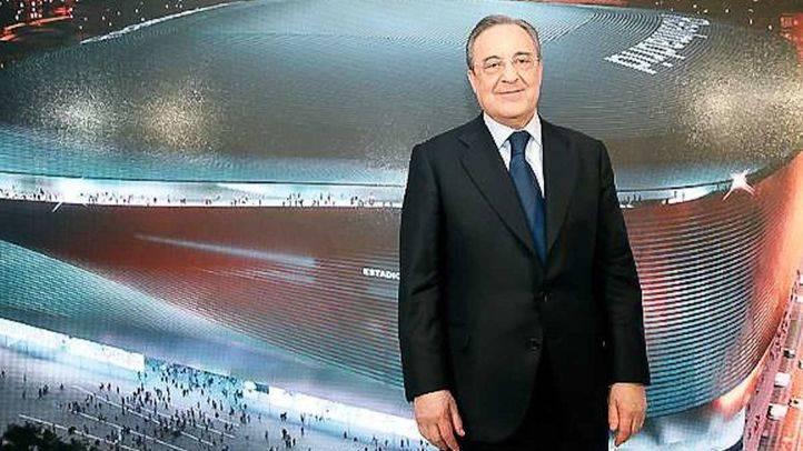 Florentino Pérez apoya a Rafa Benítez