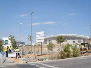 Arrancan las obras en el entorno del Wanda Metropolitano
