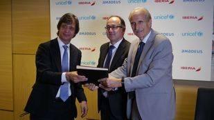 Iberia y Amadeus renuevan su colaboración con UNICEF en la lucha contra enfermedades mortales