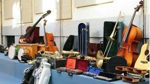 La Casa Encendida recoge instrumentos musicales para escuelas de música de África y Oriente Medio