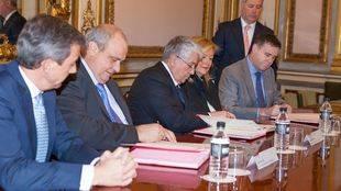 Cámara de Comercio de Madrid, la Universidad Politécnica de Madrid y la Escuela de Comercio de París firman un convenio de colaboración para  acciones formativas y de I+D+i