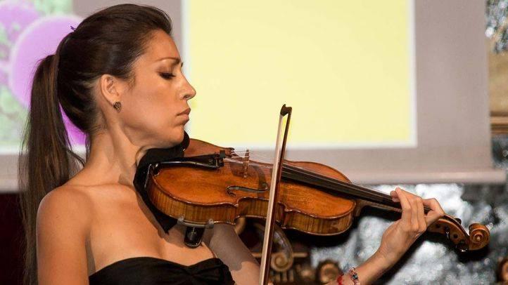 Leticia Moreno, durante una actuaci�n (archivo).