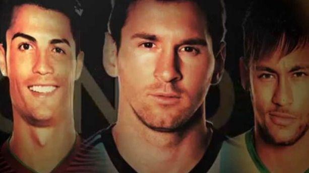 Messi, Neymar y Cristiano, finalistas al Balón de Oro