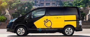 Taxis Nissan, 100% cero emisiones