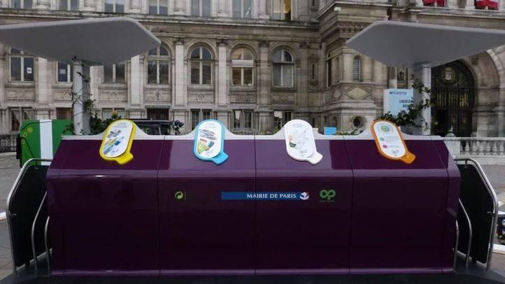 El Ayuntamiento de Paris, Eco-Embalajes y Plastic Omnium inauguran Trilib'