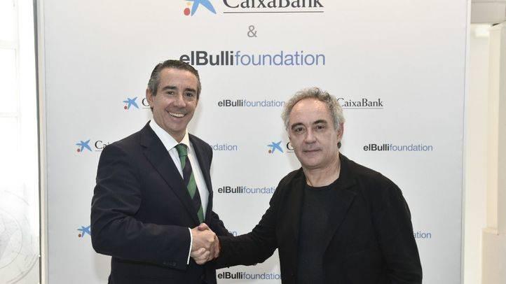 Juan Alcaraz y Ferran Adrià