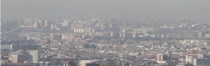 El Ayuntamiento activaría el Escenario 3 del protocolo de alta contaminación el lunes