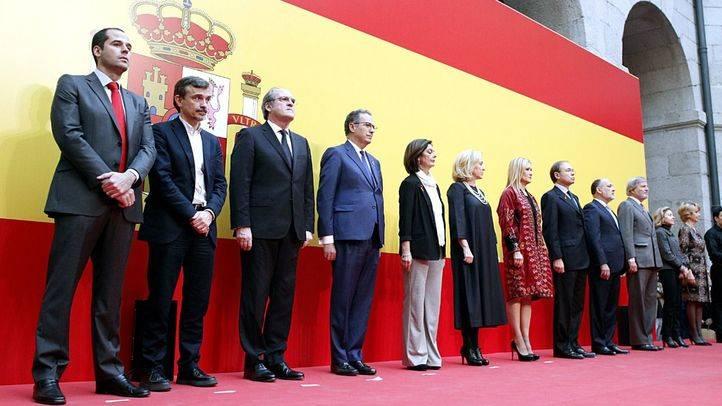 Madrid celebra el Día de la Constitución con la mirada en las elecciones y Cataluña