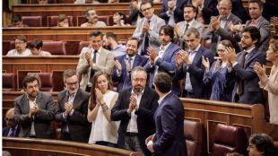 Rivera continúa el discurso de Rajoy y descalifica la