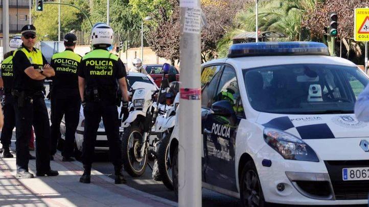 Foto de archivo de varios agentes de la Policía Municipal de Madrid.