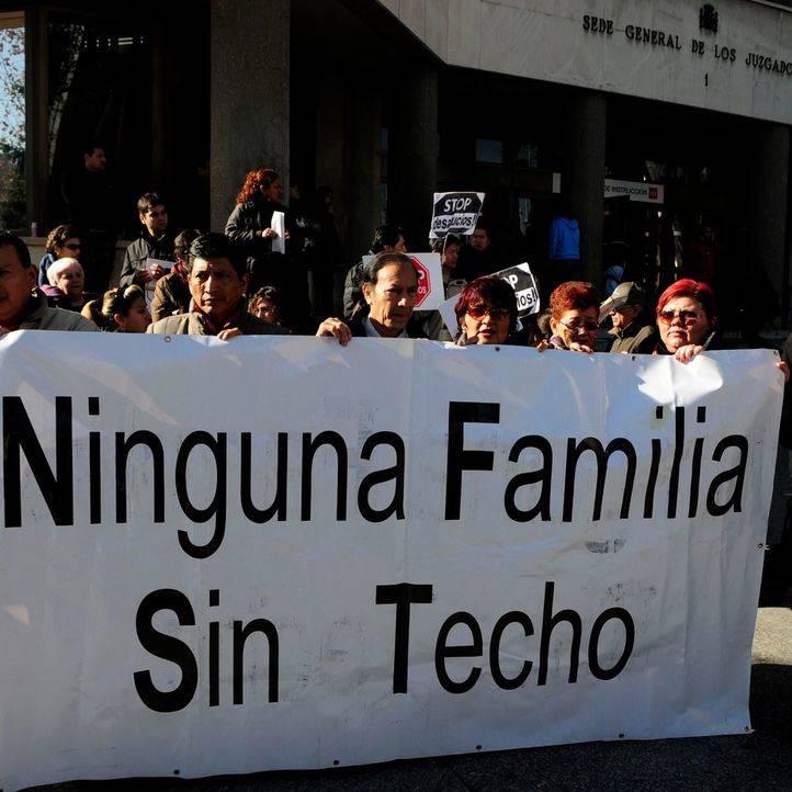Aumentan un 5,5% los desahucios en Madrid