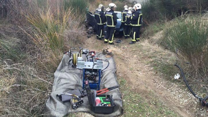 Dos muertos en un accidente de tráfico en Buitrago del Lozoya