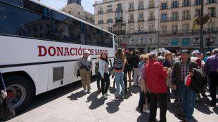 Donantes en Madrid