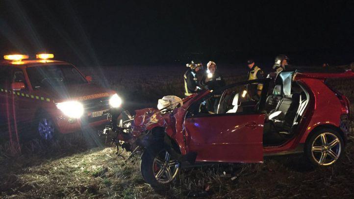 Accidente de tráfico en Algete
