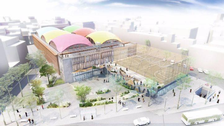 La nueva Cebada ampliará la cancha deportiva, mantiene la piscina y creará un espacio de gestión vecinal en la cubierta