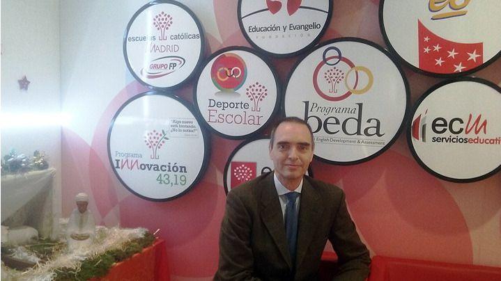 José Antonio Poveda, nuevo secretario regional de FERE-CECA Madrid