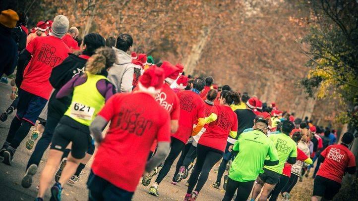 Dos mil madrileños corren contra la pobreza