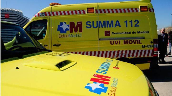 Dos personas heridas, una grave, en un accidente en Colmenar del Arroyo