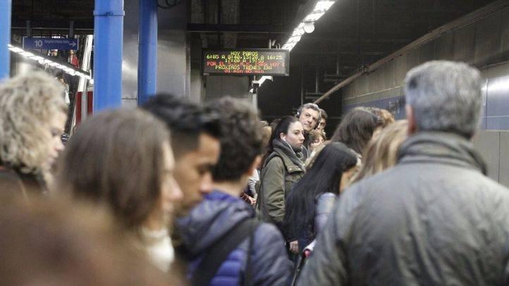 Los maquinistas de Metro, divididos ante una huelga que sigue en pie: