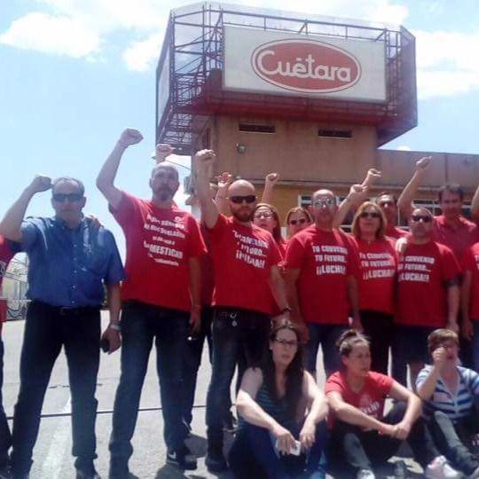 Cesan los paros en Cuétara tras lograr una subida salarial de los trabajadores