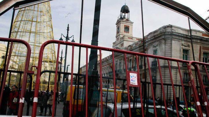 El Ayuntamiento habilitará cuatro accesos para entrar en Sol durante las uvas