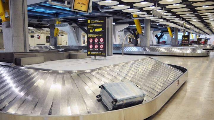 Interceptada una maleta en el aeropuerto de Barajas con 28 kilos de cocaína