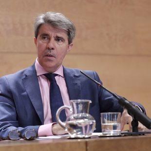 Ángel Garrido, consejero de Presidencia, Justicia y portavoz de la Comunidad de Madrid