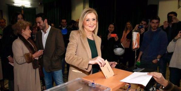 Los líderes madrileños acuden a las urnas