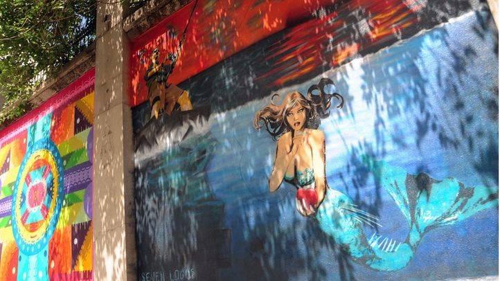 Murales de Arte Urbano (Archivo)