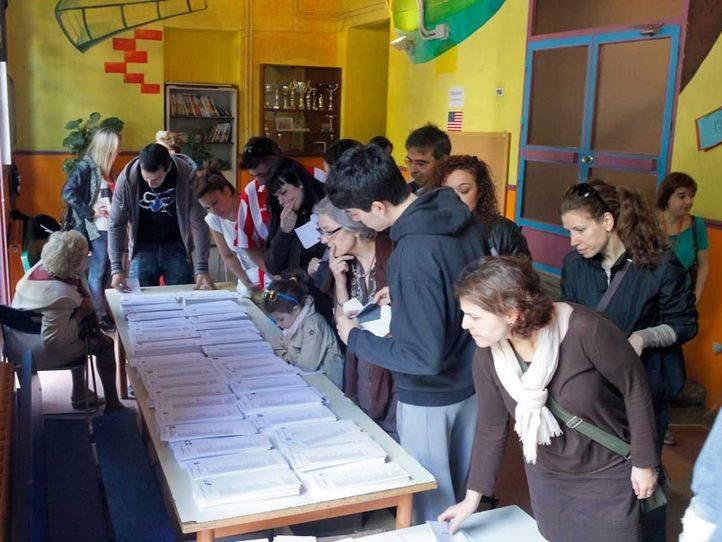 Colegio electoral.