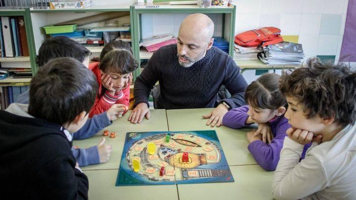 Clase en el Colegio Mario Benedetti