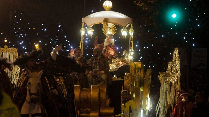 Cabalgata de Reyes de Madrid en 2015 (archivo).