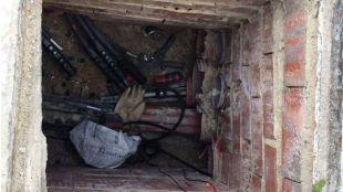 Un trabajador electrocutado se salva de la muerte gracias a la reacción de un ciudadano