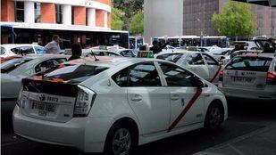 Los taxistas madrileños tendrá urinarios exclusivos en 2016