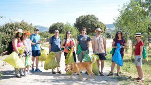 Una veintena de espacios naturales de la Comunidad, libres de basura
