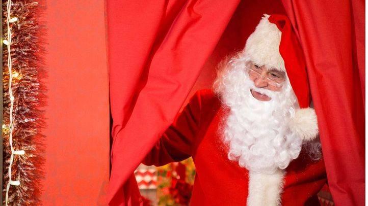 Visita a la Casa de Coca-Cola de Papá Noel.
