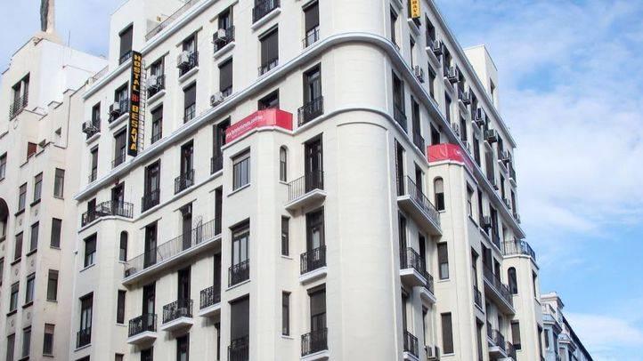Fachada del edificio número 13 de la calle San Bernardo