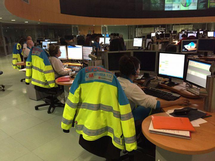 Una salida de vía en Soto del Real causa cinco heridos