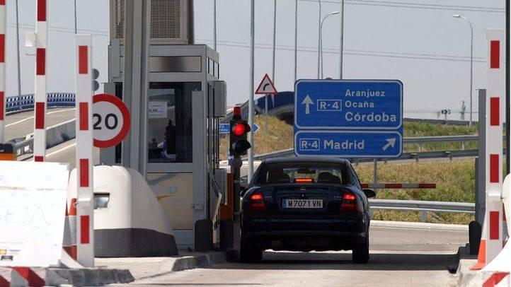 Baja el peaje de las autopistas en el resto de España pero sube en las radiales de Madrid