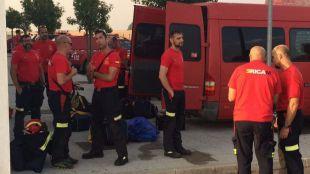 La Comunidad envía a una treintena de bomberos a Portugal