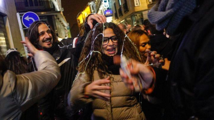 Madrid celebra las 'pre-uvas'