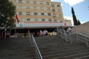 Hospital Gregorio Marañón. (Archivo)