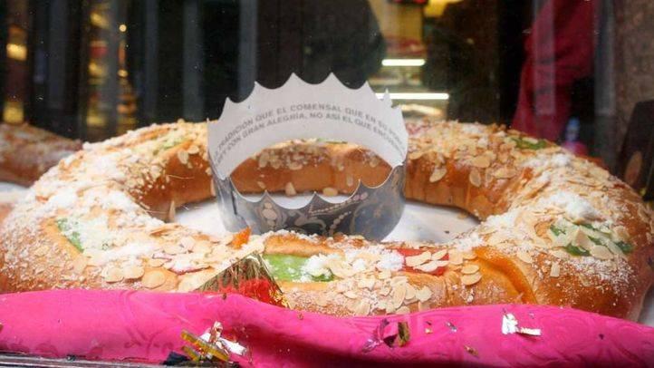 Una pastelería madrileña introduce un diamante en uno de sus roscones de reyes