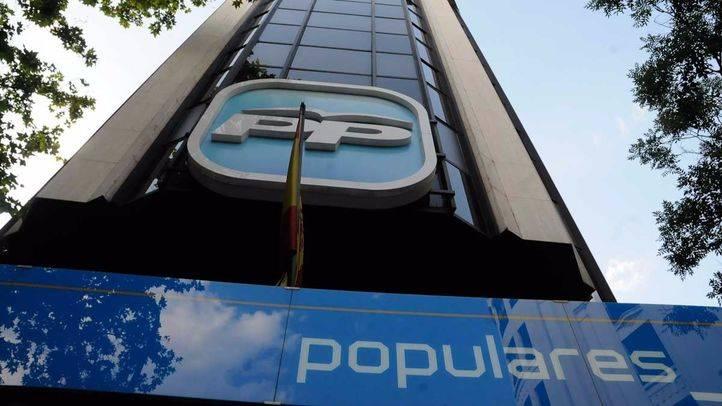 Sede del Partido Popular PP en la calle Génova. (Archivo)